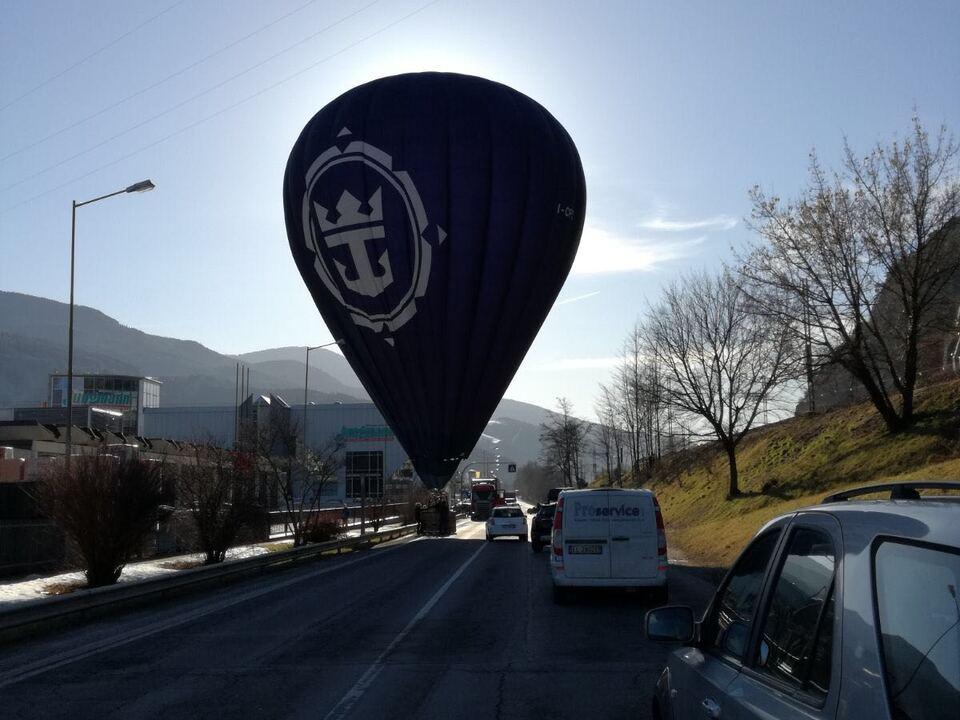Heißluftballon Brixen