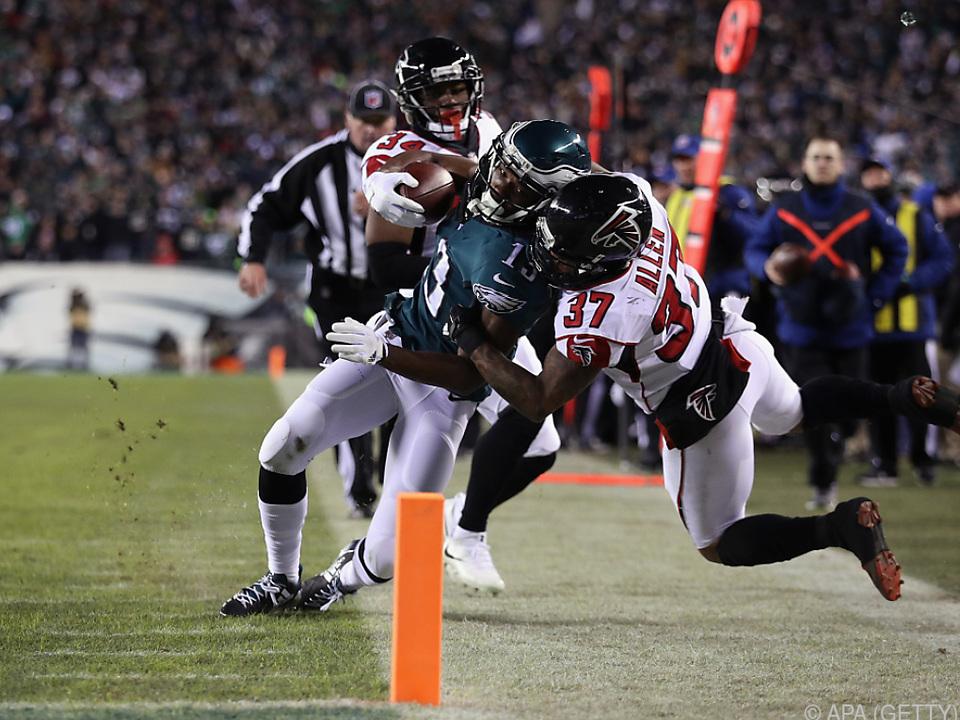Eagles gegen Falcons bot viel Spannung