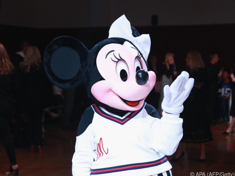 Ehrung für Minnie Mouse