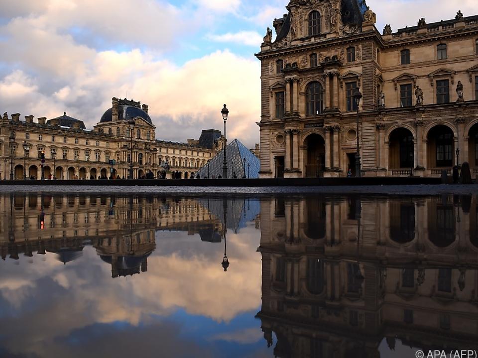 Eine Abteilung im Louvre wurde vorübergehend geschlossen