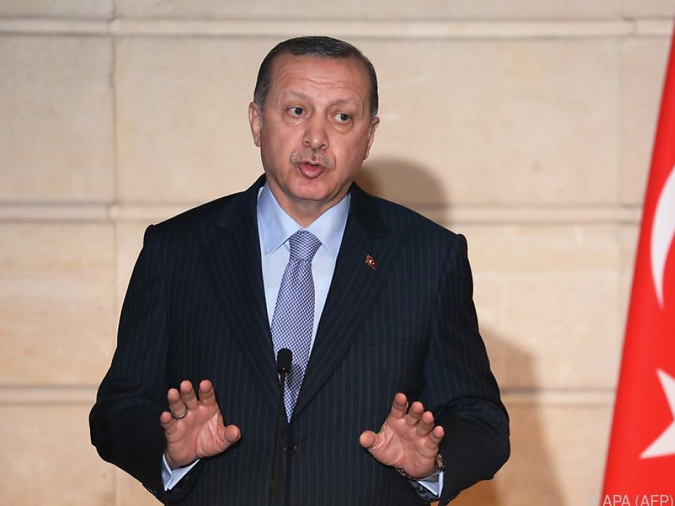 Erdogan brachte rechtliche Schritte ins Spiel