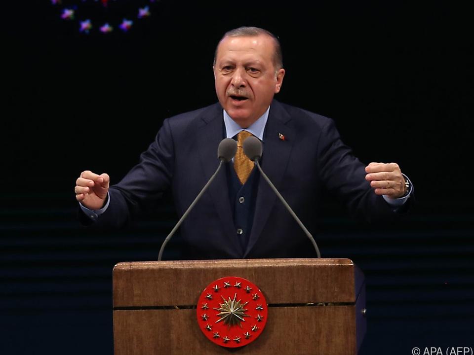 Erdogan möchte die südliche Grenze vom Terror säubern