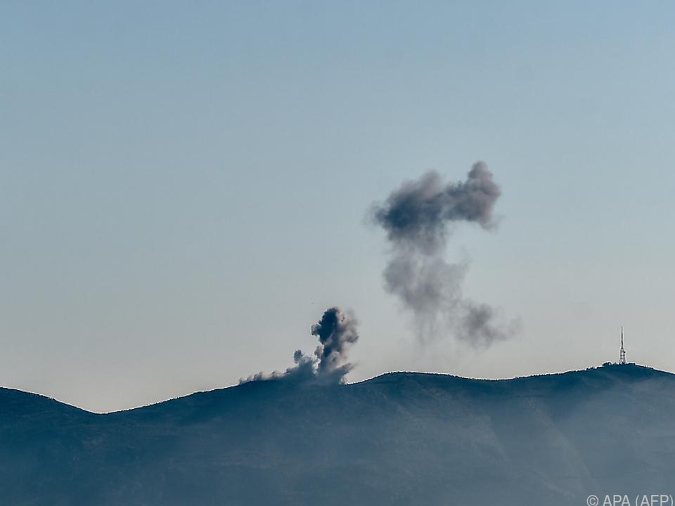 Erneut Stellungen kurdischer Milizen in Syrien angegriffen