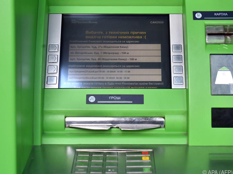 Fast jeder zweite Ukrainer ist Kunde der PrivatBank