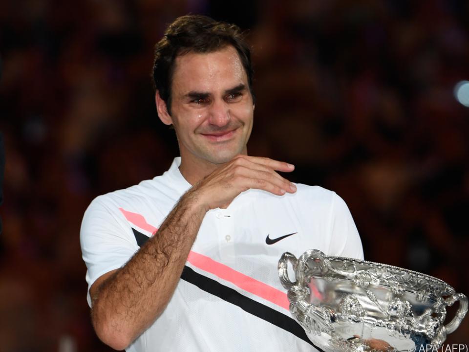 Federer beweinte seinen Sieg in Melbourne