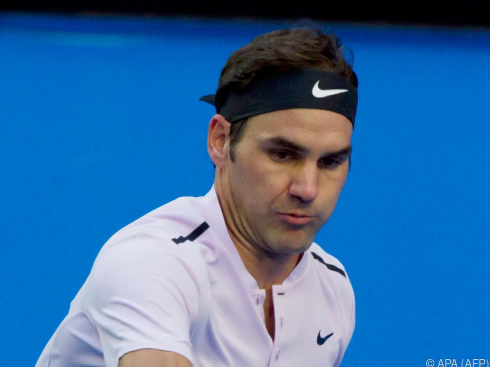 Federer zeigte sich in guter Form