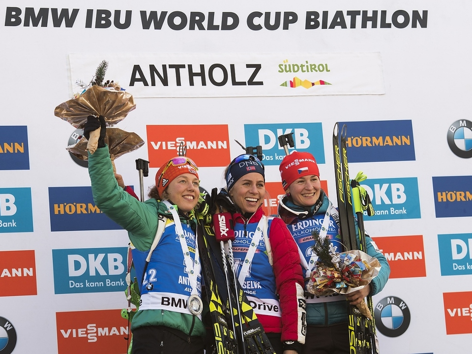 IBU world cup biathlon, sprint women, Antholz (ITA)