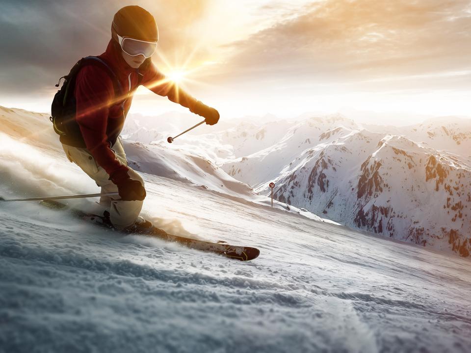 skifahren ski fahren sym skiunfall schnee winter