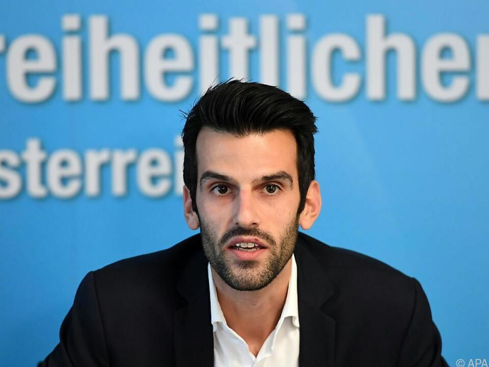 FPÖ-Spitzenkandidat Udo Landbauer