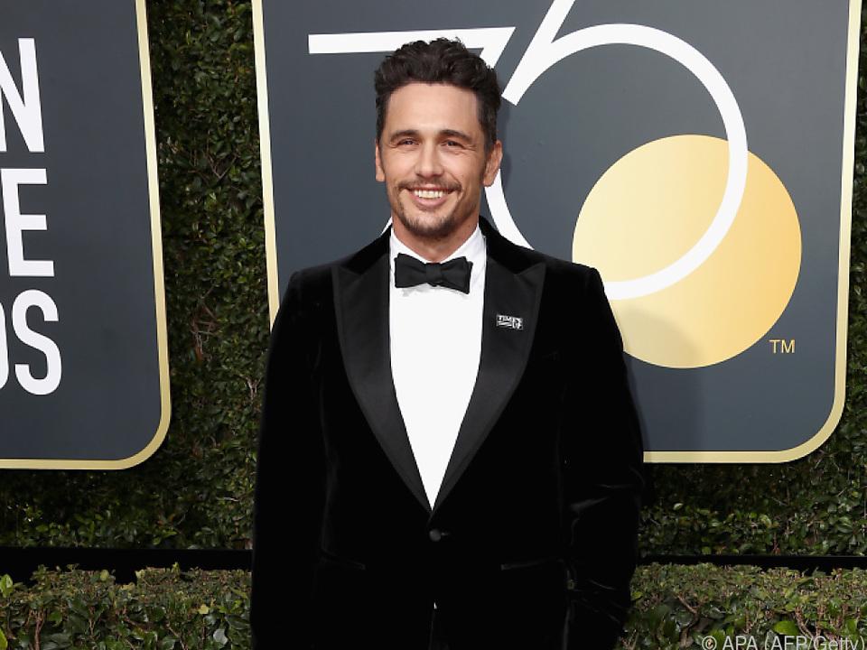 Franco trug bei den Golden Globes einen \