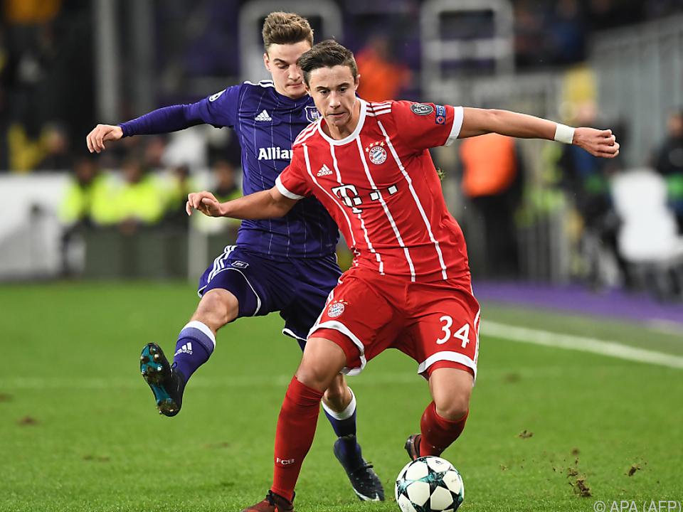 Bremen leiht ÖFB-Talent Friedl von den Bayern aus