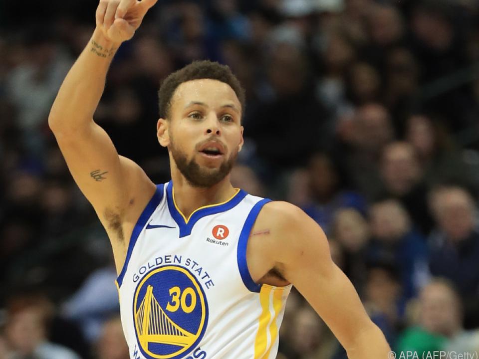 Golden State ist derzeit die Nummer eins der NBA