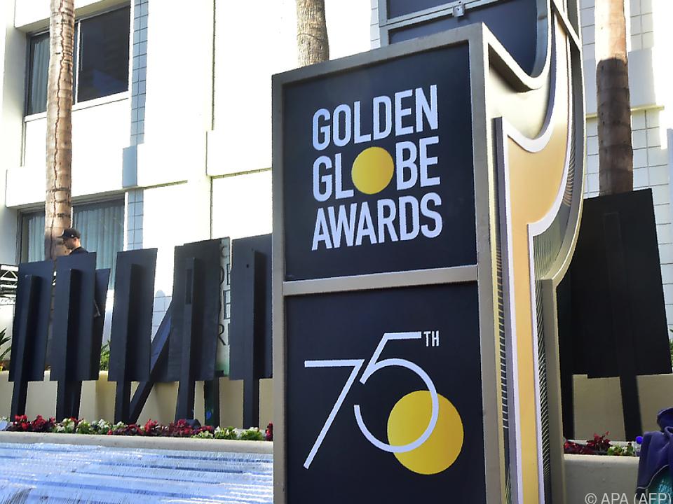 Goldene Weltkugeln werden in Los Angeles verliehen