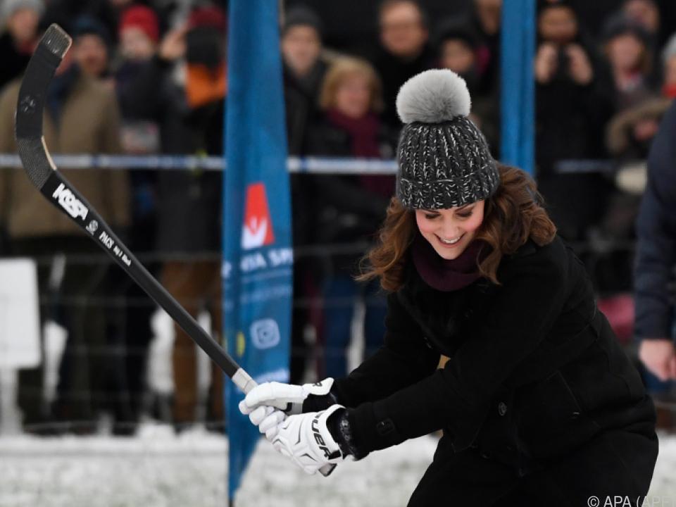 Herzogin Kate hatte offenbar ihren Spaß