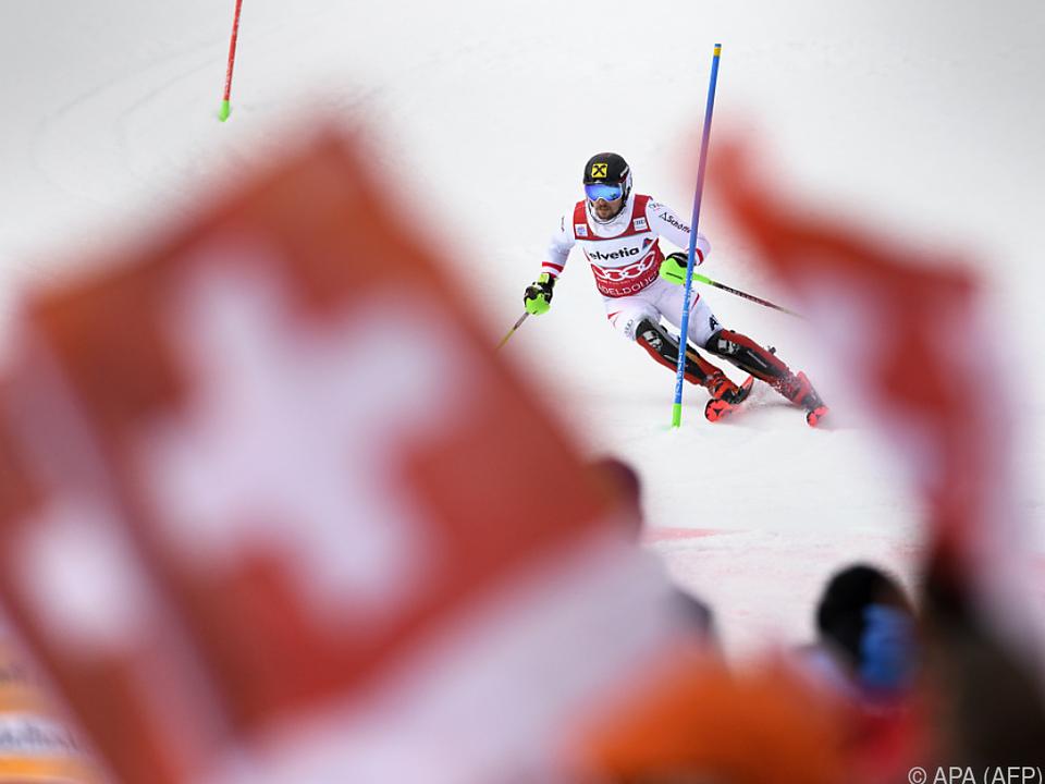 Hirscher begeistert sogar die Schweizer Fans