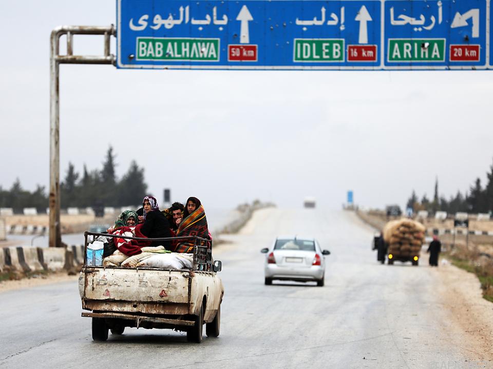 Idlib wurde eigentlich zur Deeskalationszone erklärt