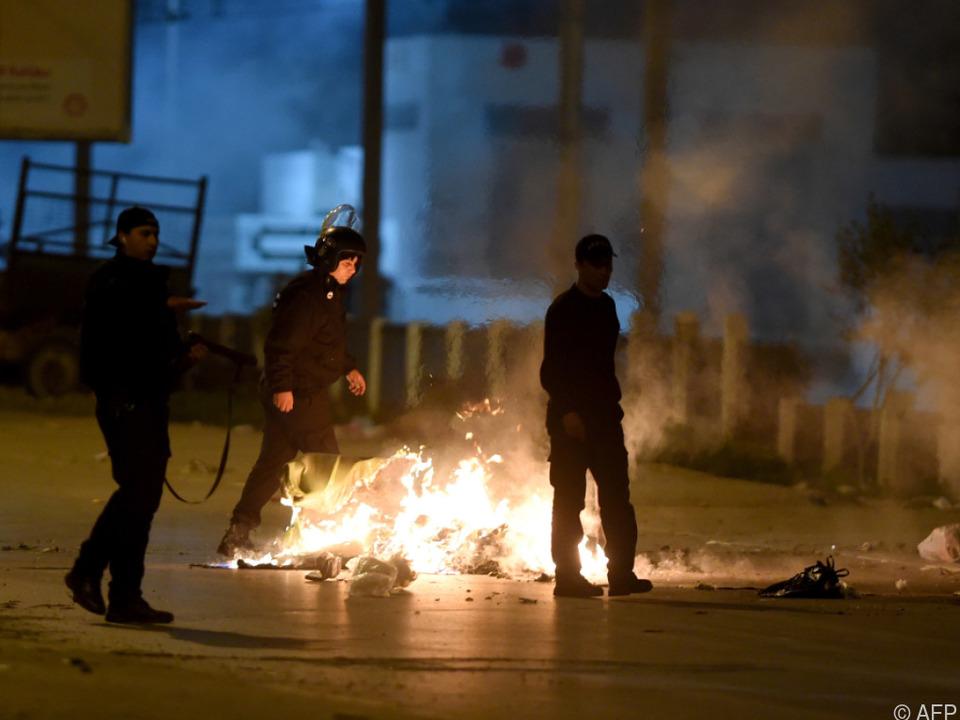In Tunesien kommt es seit Jahresbeginn immer wieder zu Protesten