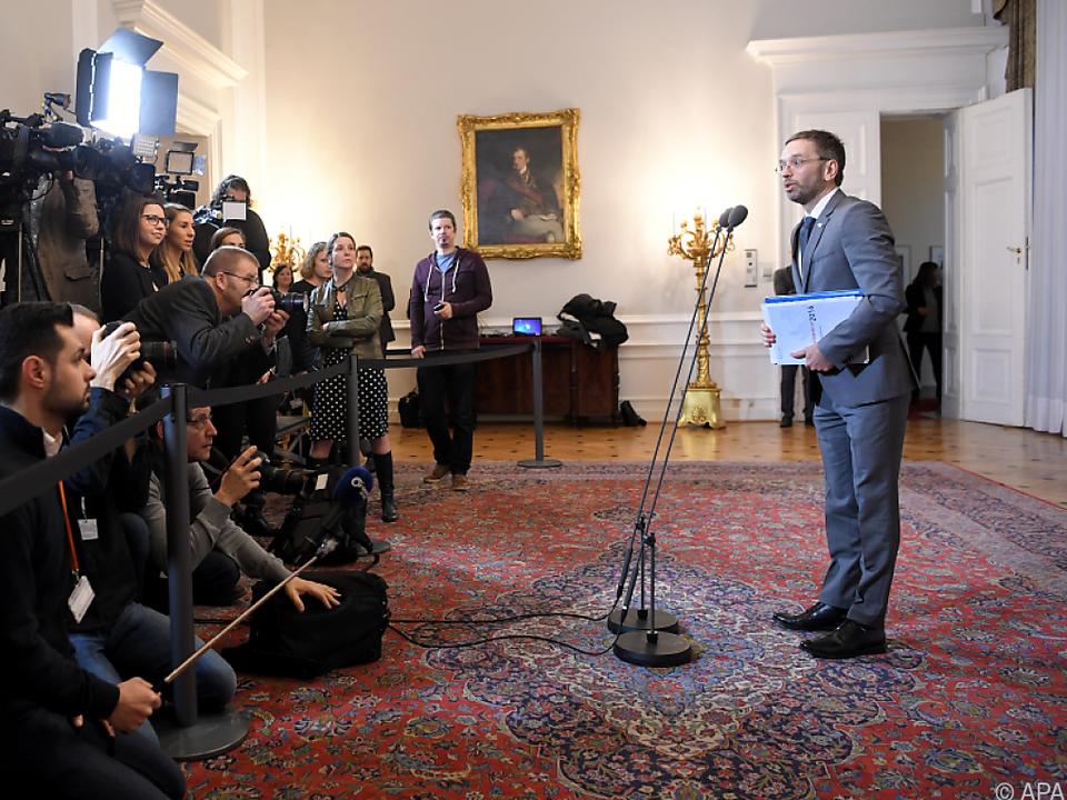 Innenminister Kickl brachte Niederlassungsverordnung ein
