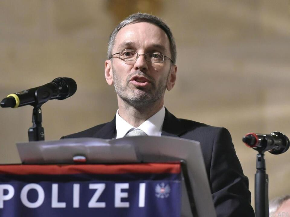 Innenminister Kickl plant Novelle des Datenschutz-Anpassungsgesetzes