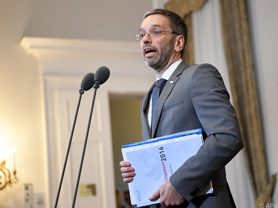 FPÖ-Innenminister Kickl will Flüchtlinge