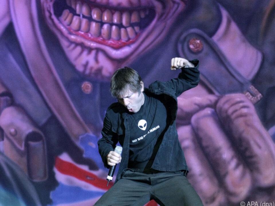 Iron-Maiden-Sänger Bruce Dickinson