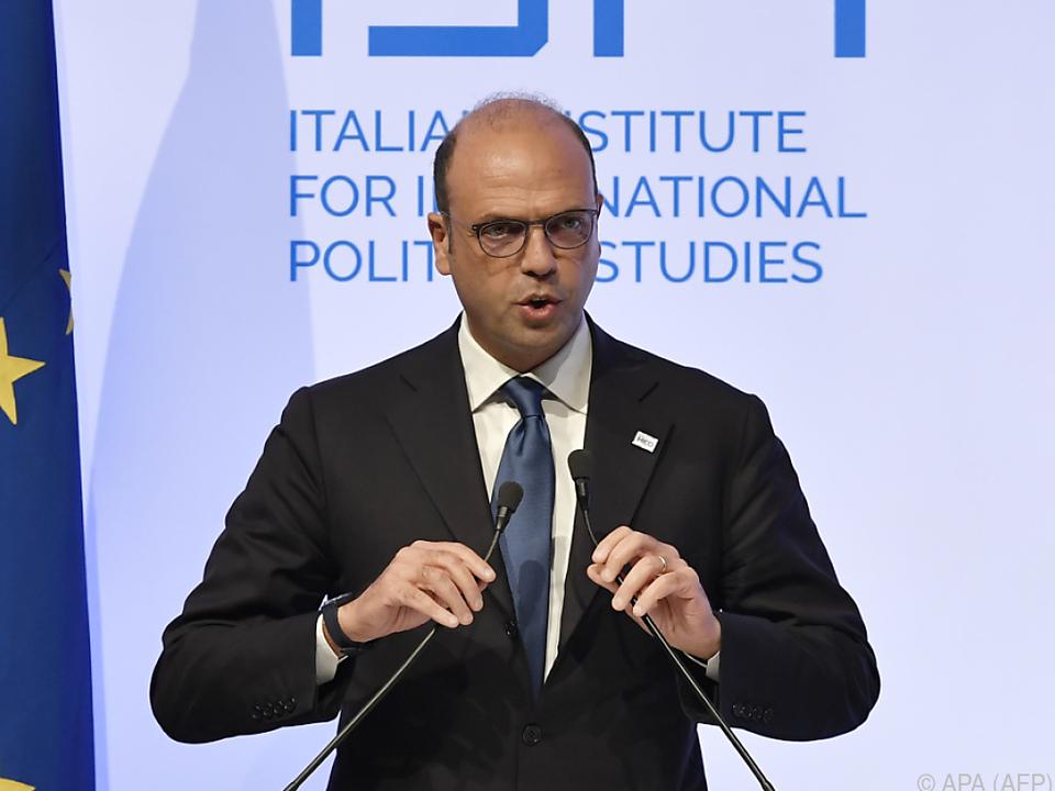 Italiens Außenminister Alfano will Mittelmeerraum in den Fokus rücken