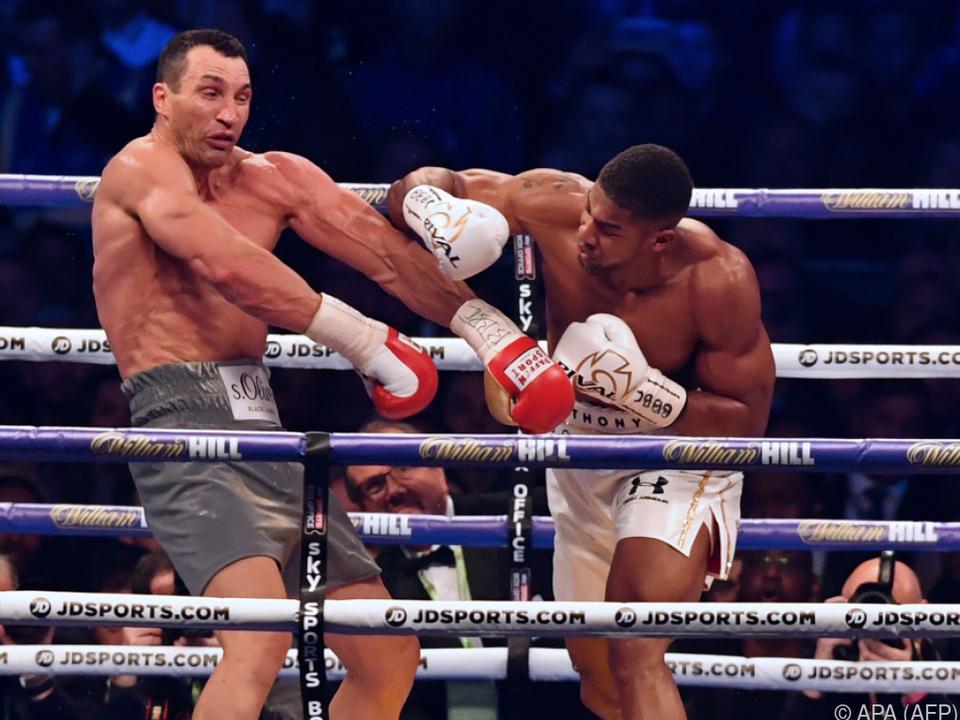 Joshua sorgte gegen Klitschko für Aufsehen