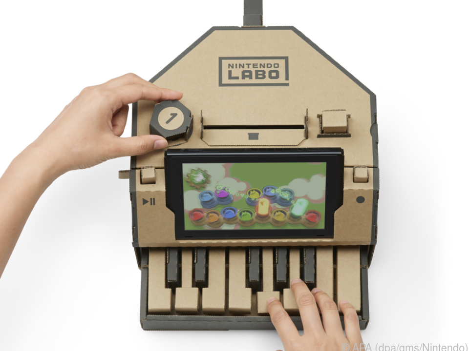 Erst basteln, dann spielen: Das Papp-Piano aus Nintendos Labo-Kit-Reihe