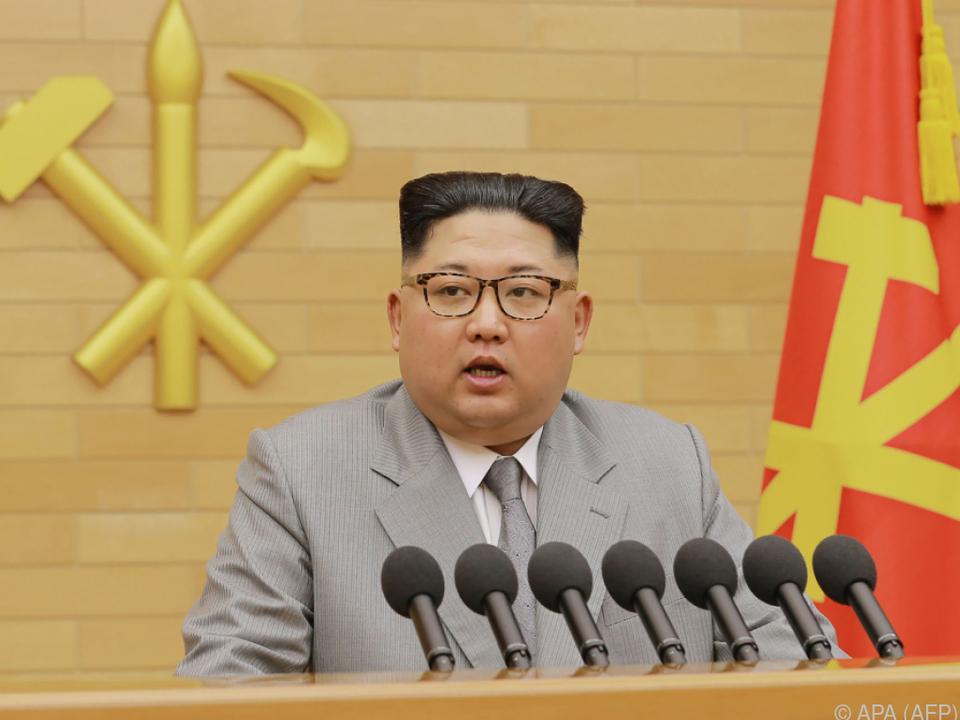 Kim auch in Neujahrsansprache nicht um Drohgebärden verlegen