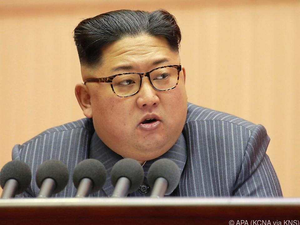 Kim Jong-un stimmte den Gesprächen zu