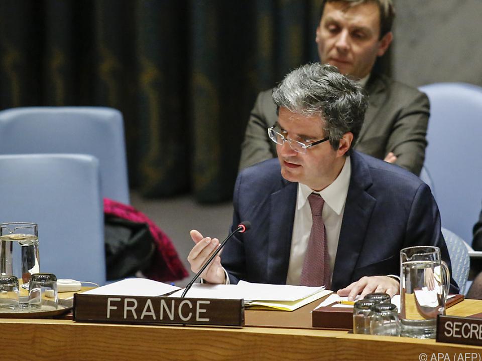 Kritik kam unter anderem von Frankreichs Delattre