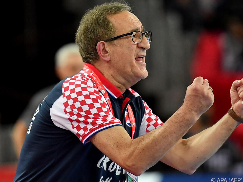Kroatien-Coach Cervar musste lange zittern