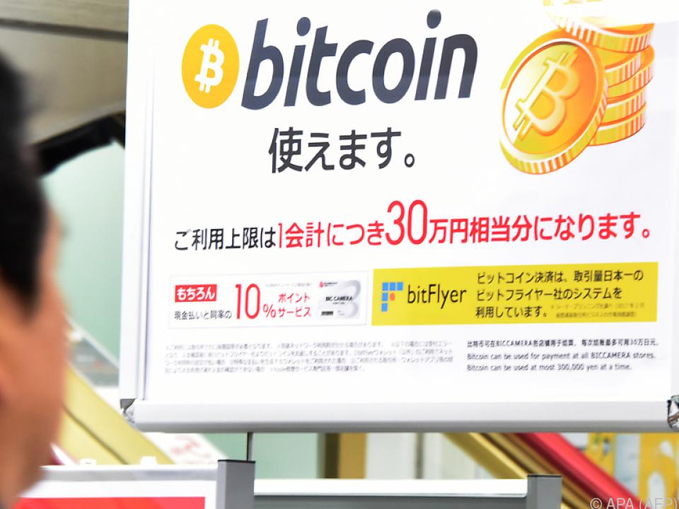 Kryptowährungen sind in Asien besonders beliebt