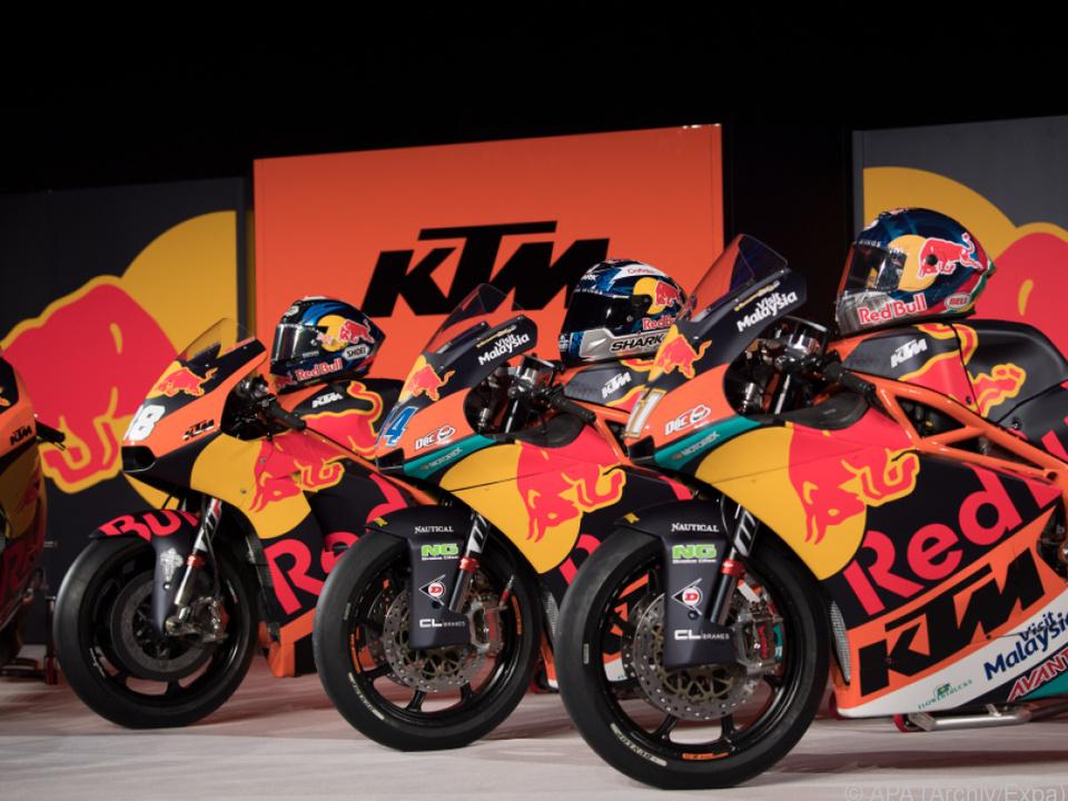 KTM hat um 17 Prozent mehr Motorräder verkauft