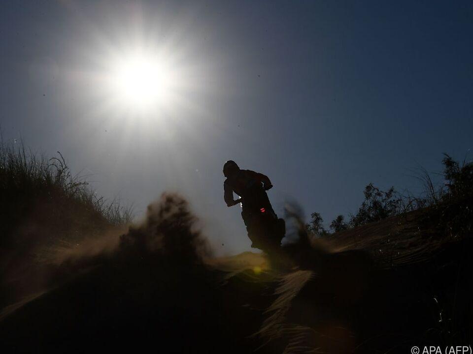 KTM-Pilot auf Siegeskurs