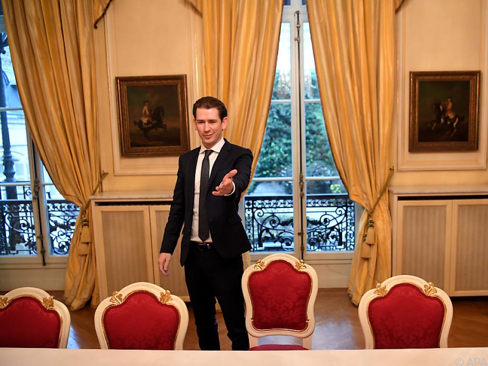 Kurz in Paris zu Gast
