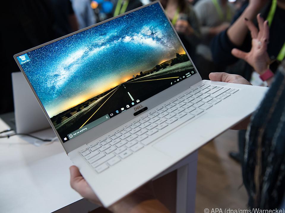 Das XPS 13 von Dell hat besonders dünne Bildschirmränder
