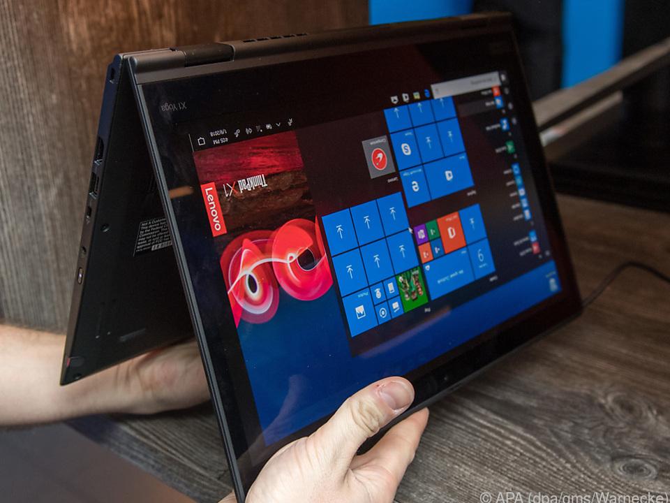 Lenovos Thinkpad X1 Yoga lässt sich zum Tablet verwandeln