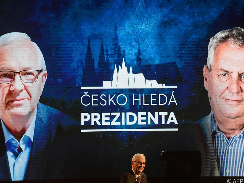 Letzte TV-Konfrontation zwischen Drahos und Zeman Donnerstagabend