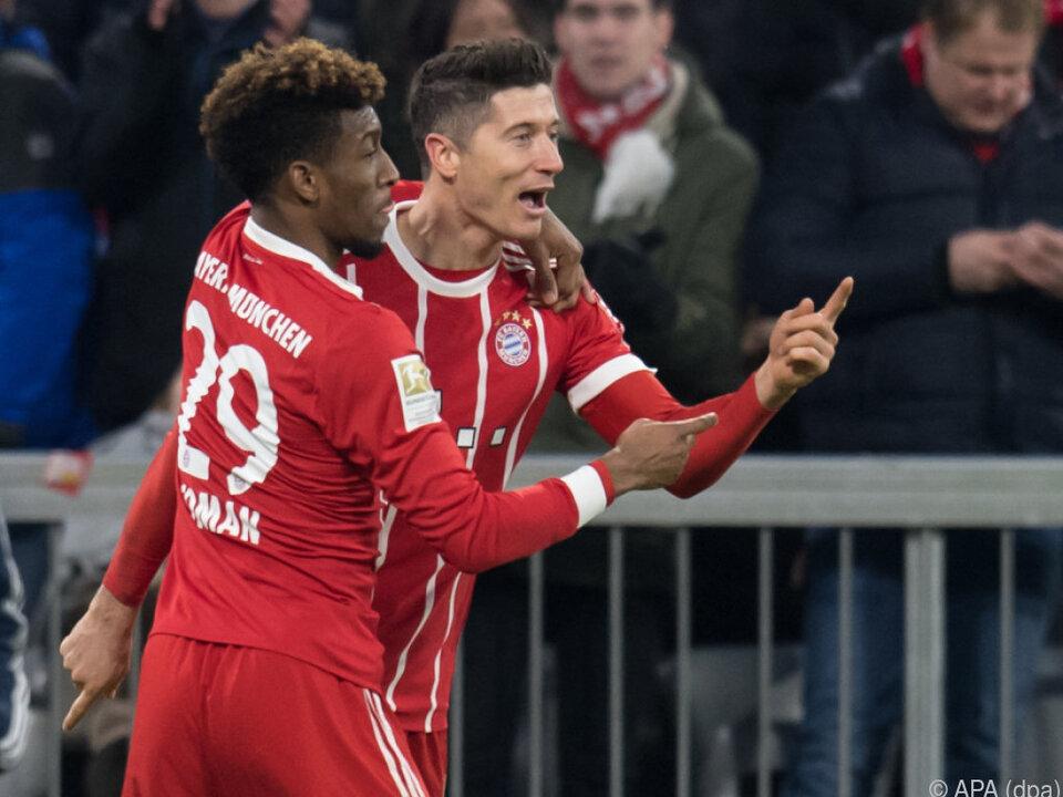 Lewandowski und Kollege Müller machten den Unterschied