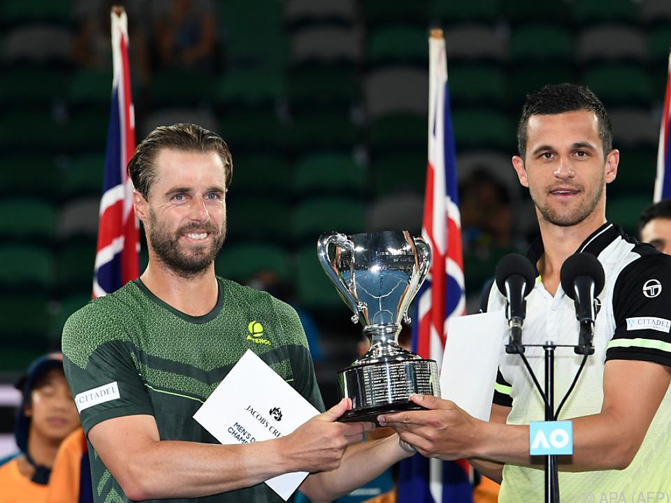 Marach/Pavic teilen sich Pokal und Siegerscheck