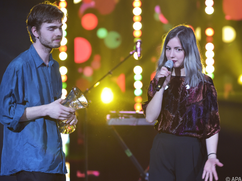 Marco Kleebauer und Sophie Lindinger sind das Popduo \