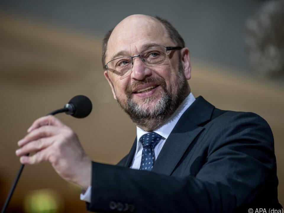 Martin Schulz wirbt für Koalitionsverhandlungen