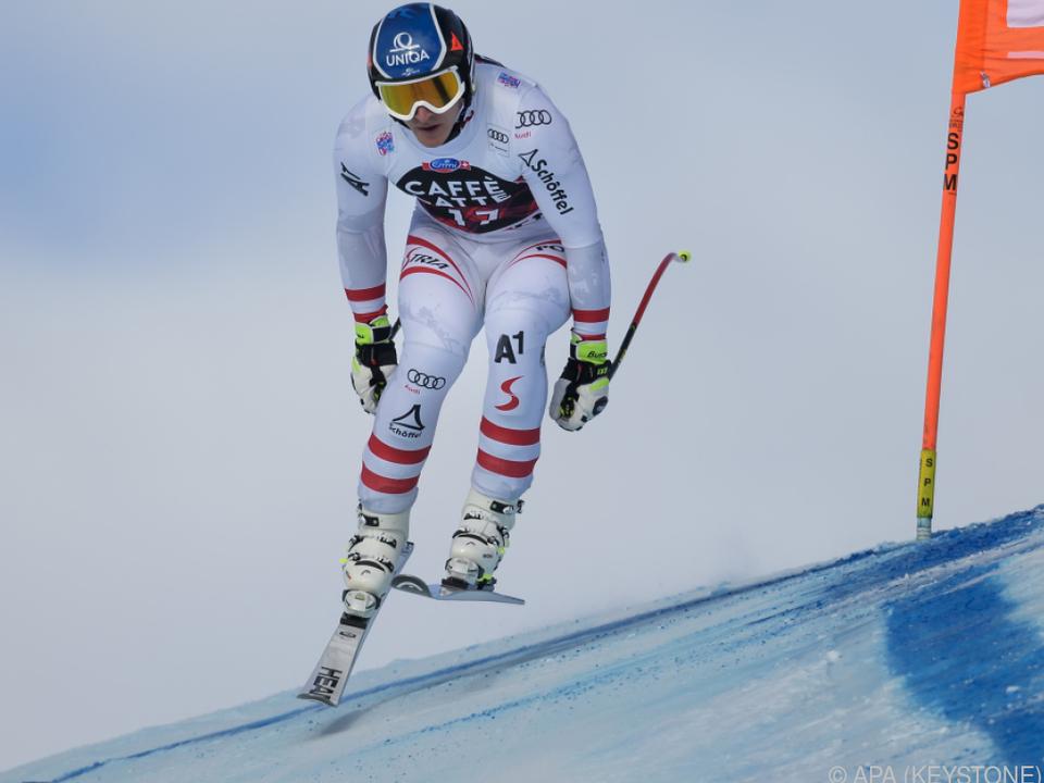 Matthias Mayer war im Training Zweiter