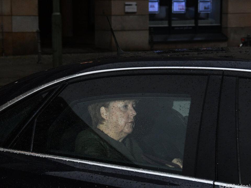 Merkel ist auf einen Verhandlungserfolg angewiesen