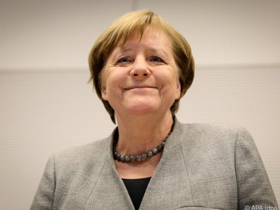 Merkel räumte einen Brocken aus dem Weg