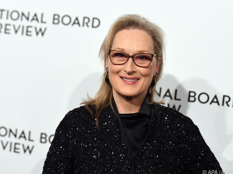 Meryl Streep sieht die Macht für Veränderungen bei den Frauen