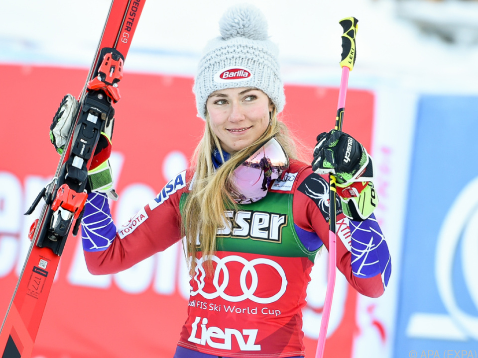 Mikaela Shiffrin strebt in Zagreb ihren dritten Sieg an