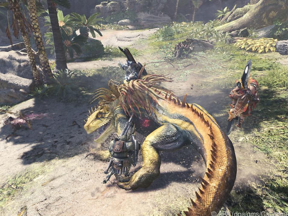 Die Spieler müssen Fährten lesen, Waffen bauen und Rüstungen nähen