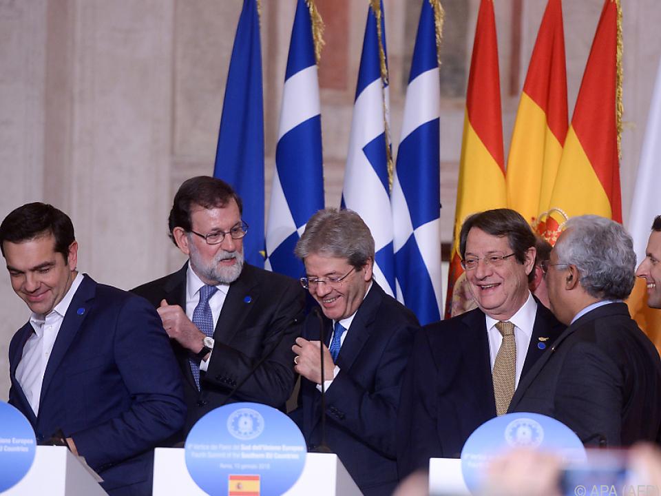 Mittelmeerländer kritisieren Verweigerungshaltung in Osteuropa